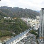 Next to JR Shin-Kobe Station