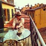 Lucca da minha varanda!!! kkk