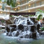 Atrium waterfall