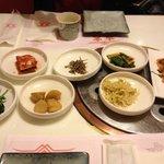 complimentary kimchi