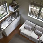 Chalet 4: kitchenette and living room