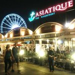 Night Shopping Bazaar at Asiatique The Riverfront