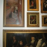 Part of the painting collection