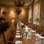 Blackfriars' Banquet Hall seating 50 people