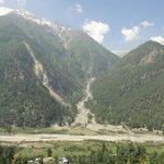 View of Himalayas, Rakcham, Kinnaur