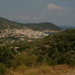 The view of Skopelos from the property