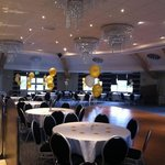 Inside the gorgeous function room