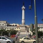 Dom Pedro IV Statue