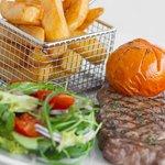 10oz Ribeye Steak & Salad