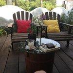 cute terrace cafe