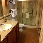Bathroom - includes built in seats in shower