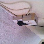 tv plug and socket room 130