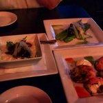 Tapas...Jumbo Shrimp, Truffle Risotto, Grilled Asparagus