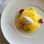dessert - pineapple