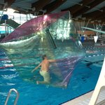 Water Walkers - sundays 3pm to 430pm - £3 per person for 5 mins