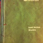 Dirty, sticky guest directory
