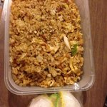 Nasi Goreng from the Food Stall in the Hotel