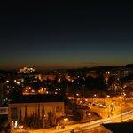 Night view to the Acropolis