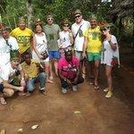 il nostro gruppo al Tour delle Spezie