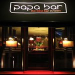 Papa Bar entrance