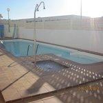 pool in adjoining block