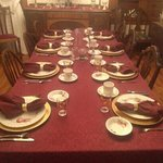 The Minnis House Dining Room