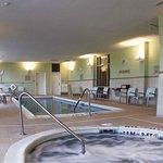 Indoor Heated Pool and Whirlpool