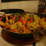 Paella en restaurant DAVID, única !!!!!!!