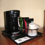 CV1 One Cup Coffee Maker with Supplies
