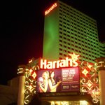 One entrance to Harrah's