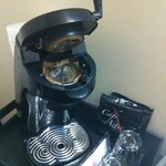 Dirty Coffee Machine