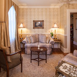 St. James Suite private sitting room