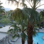 View of Pool and Mountains from Room