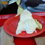 No tart/tangy lime taste in key lime pie