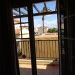 Balcón del dormitorio