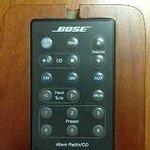 Bose remote