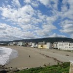 Vista de la playa Portelo-Burela