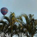 Balloon over recpetion
