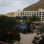 Al Waha, Blick vom Balkon des Doppelzimmer
