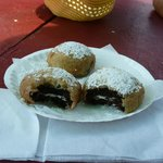 Fried Oreo en Luna park