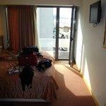 bedroom/balcony