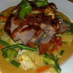 Crispy Fried Duck in Panang Curry