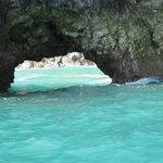 Natural arch formation Osa Peninsula