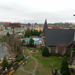 View from Turret Balcony