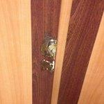 Elevators needed repairs at least of interior