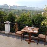 breakfast on balcony 2