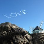 skywriting from hot tub