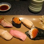 made-to-order sushi, ikura temake is a good deal