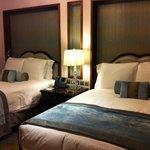 bedroom in twobedroom  suite