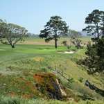 Pebble Beach is a short drive away